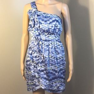BCBGENERATION : ONE-SHOULDER DRESS:  Size 0